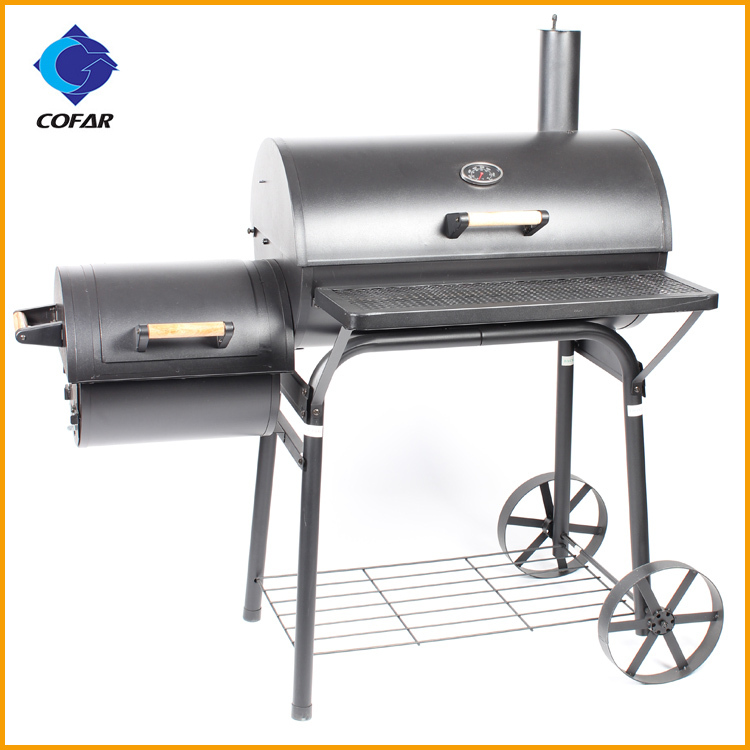 Heavy Duty Charcoal Barbecue : Portable heavy duty stainless steel smokeless charcoal