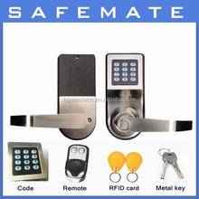 Ideal contactless guard security locks for outdoor gate/ hotel door lock