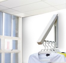 Hidden type multifunctional metal clothes hanger/ceiling clothes drying rack