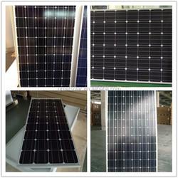 price per watt monocrystalline silicon solar panel 325W from China Supplier