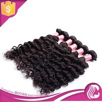 Wholesale Price 100% Natural Human Hair Dyeable Indian Remy Ocean Wave Hair Weaving