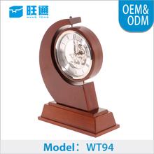 2015 Digital MDF antique table time desktop clock