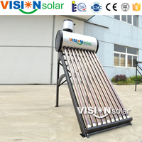 Good price and high quality low pressurized solar heater for daily hot water using
