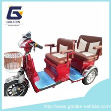2015 hot sell indian market electric passenger tricycle