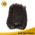 nova beleza pura brasileiro bouncy onda do cabelo humano tecelagem
