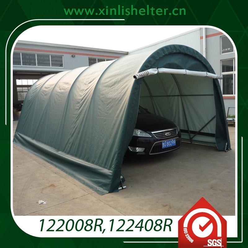 Pvc Car Shelters : Good quality pvc car garage view tent xinli shelter