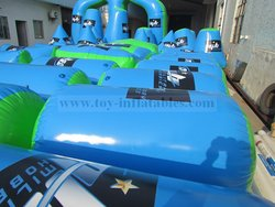 New style customized inflatable x bunker x x