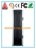 Rack/network cabinet/server cabinet with data cable partition