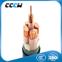 Armored and unarmored underground cables 3x2.5mm power cable