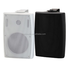 White or black, PP plastic, woofer and tweeter, Wall mounted, 40W speaker.