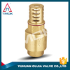 float valves sub/check valve three way with polishing high pressure and iron handle with forged piston brass body 6 inch NPT