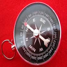 Camping Hiking Wholesale Popular Brass Pocket Compass Ring