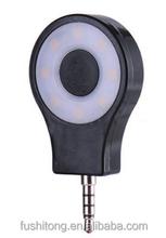 Tolifo circular 8pcs LED constant light selfie light pocket spotlight for smartphone made from Dongguan