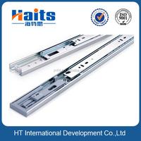 3 fold Soft close drawer slide rail tracks with ballbearing