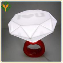 mejor 2013 romance de venta de diamantes anillo de la lámpara