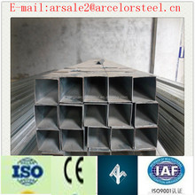 Square galvanized pipe/square hollow steel tube/SHS Pipe Manufacturing