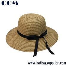 Vogue Women Lady Girl Brim Summer Beach Sun Hat Straw Floppy Elegant Bohemia Cap