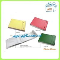 colorful pu leather cover photo album