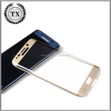 For 0.26MM 9H Cell Phone accessories Samsung s6 edge color tempered glass screen protector