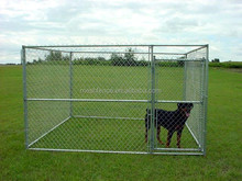 Alibaba china Heavy-duty 1-3/'' tubular frame and heavy-duty 11-1/2-gauge 6' tall Chain Link Dog Kennels