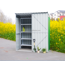 factory outlet beautiful excellent quality steel garden shed with zinc coated