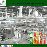 New condition concentrate juice filling machinery