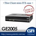 GE2005 mini computador industrial pc para Thin Client