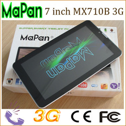 factory cheapest price tablet pc 7 inch dual core android tablet with dual sim card wifi gps