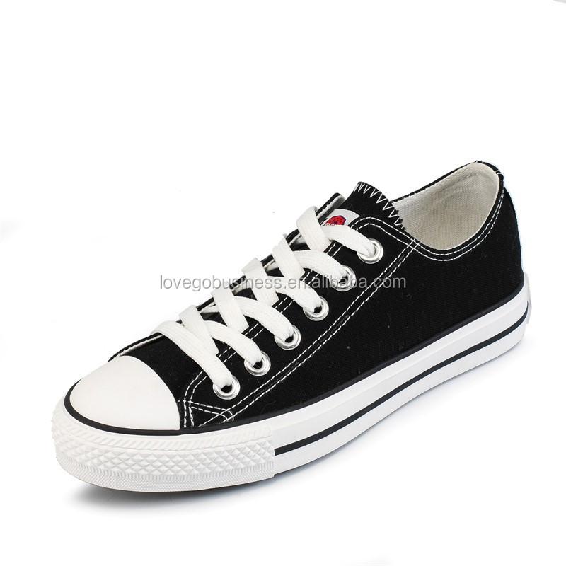 China Flat Shoes For Men Women Unisex Canvas Shoes ...