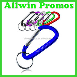 Promotional Aluminum Carabiner Keychain