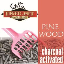 recycled activated charcoal pure pine wood cat litter kitty sand