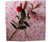 T-shape flower sheet/flower plastic package