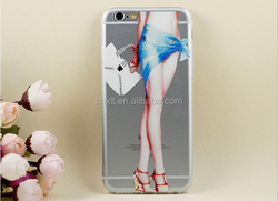 Double effect Sexy legs Art Print Design cheap mobile phone case for iphone5