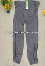 2012 new legging pregnant woman grey high waist long leggings