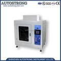 معدات المختبرات iec60695-11-5 جهاز اللهب الفولاذ المقاوم للصدأ إبرة