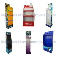 China printing factory cheaper custom cardboard display
