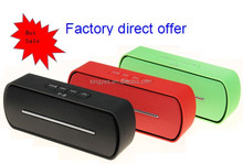 Factory Direct offer fashionable Super Bass Wireless Bluetooth speaker Y8