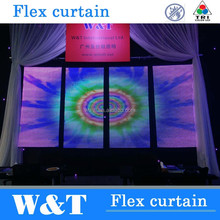 W&T flexible led curtain P25mm