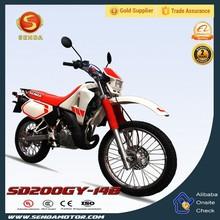 200CC Dirt Bike 4 Stroke Engine Type Mini Pocket Bike Motorcycle SD200GY-14B