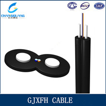 Factory Supply FTTH 2 Core Single Mode Bow-type Drop Optical Cable GJXFH/GJXH