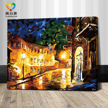handmade abstract oil painting for living room pictures abstract buildings