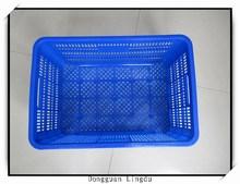 Fast food basket plastic and plastic foldable basket