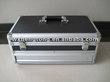 aluminum tool case with drawers