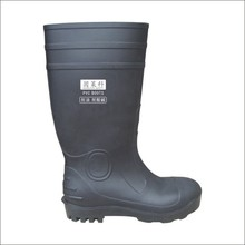 Oil industry protective safety boots made by PVC