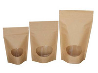retailer nuts packaging bags oval window pouch