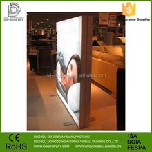 New fabric led lighted photo frame,images led display light frame, fabric light box frame stand