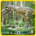 Parque de atracciones alta simulación Artificial mecánico 3D dinosaurio