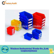 promotional plastic storage spare parst bins open front Chinese manufacturing company