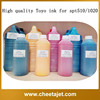Environment friendly glossy Toyo digital inkjet ink for crystaljet cj6000 wide format printer machines