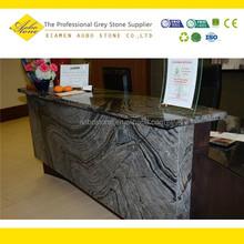 Grey onyx marble bar top